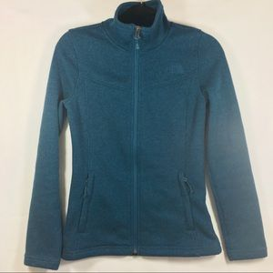 The North Face  Light-Weight Knit Zip Front Jacket